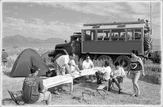 campamento viajes Kazakstán kirguistán