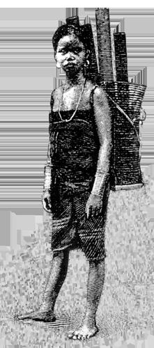 mujer viaje laos