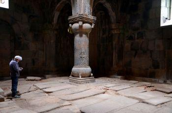 Interior del Monasterio de Sanahin.ARMENIA: Armenia, Georgia