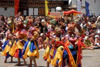 Danzas Cham: Bhutan