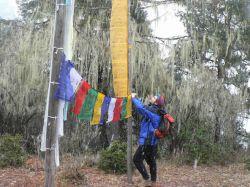 Atando las banderas de oracion: Bhutan, Nepal