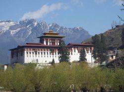 El dzong de Paro: Bhutan, Nepal