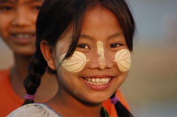 Mujer birmana: Birmania (Myanmar)
