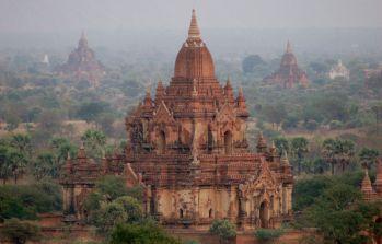 Templos de Bagan: Birmania (Myanmar)