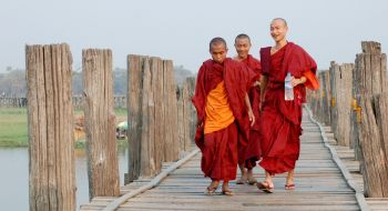 U Bein Bridge : Birmania (Myanmar)