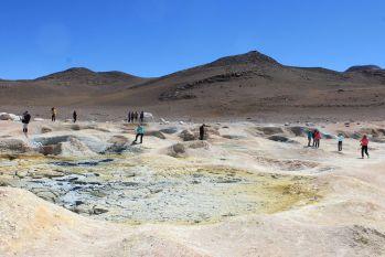 Géiseres del Sol de Mañana: Bolivia