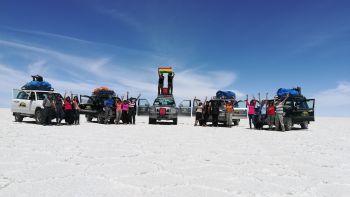 AMBAR en el Salar de Uyuni: Bolivia
