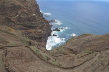 Trekking Fontainhas - Cruzinha (Santo Antao): Cabo Verde