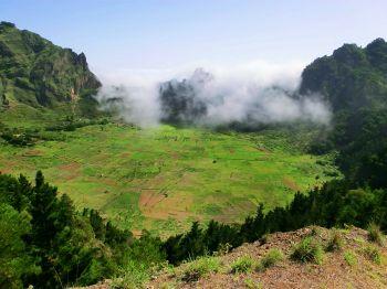 Volcán Cova, trekking Valle do Paul (Santo Antao): Cabo Verde