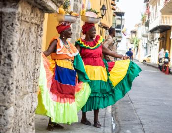 Palenqueras- Cartagena de Indias: Colombia
