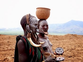 Tribu Mursi: Etiopía, Djibouti