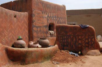 Tiébélé país Gourunsi: Burkina Faso, Benin