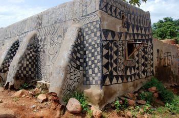 Tiébélé: Burkina Faso, Benin