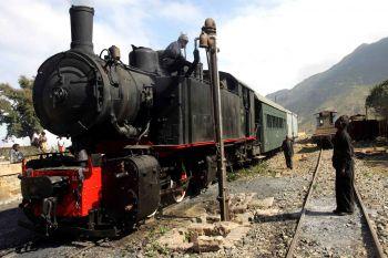 Tren de vapor: Etiopía, Eritrea