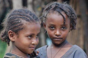 Niñas etíopes: Etiopía