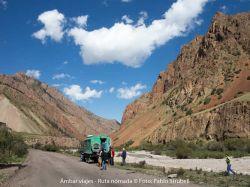 Tash Rabat : Kazajistán, Kirguizistán