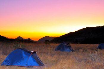 Acampada en P.N. Andringitra: Madagascar