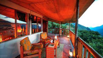 Lodge en P.N. Bwindi: Uganda