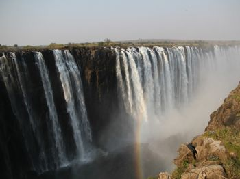 Cataratas Victoria.: Namibia, Botswana, Cataratas Victoria, Sudáfrica