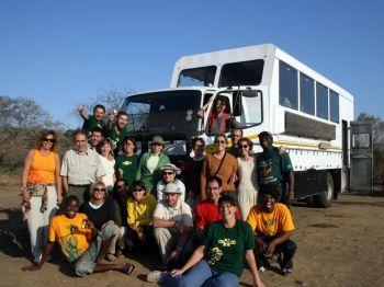 Nuestro camión. : Namibia, Botswana, Cataratas Victoria, Sudáfrica