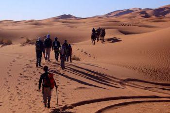 Trekking en las dunas (de noviembre-marzo): Marruecos