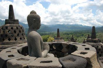Borobudur: Indonesia