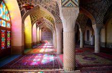 Mezquita en Shiraz: Irán
