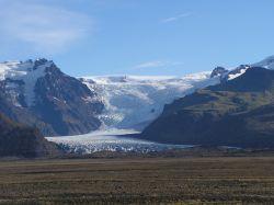 Lengua glaciar.: Islandia