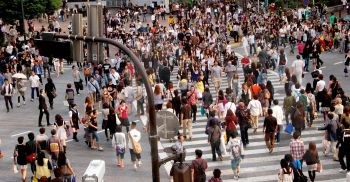 Cruce de Shibuya: Japón