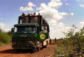 El camión será nuestra casa durante este viaje por Kenya y Tanzania: Kenya, Tanzania, Zanzíbar