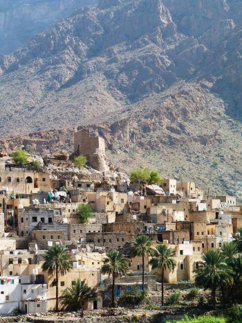 WADI BANI AWF: Omán