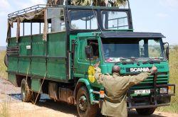 Camión Kananga que nos acompañará durante la ruta: Uganda, Kenya