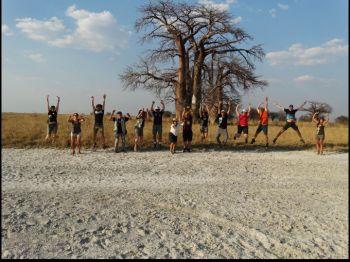 Salar de Makgadikgadi, Botswana.: Botswana, Cataratas Victoria