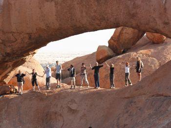 Spitzkoppe uno de los lugares mágicos de Namibia. : Sudáfrica, Namibia, Botswana, Cataratas Victoria