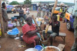 En ruta hacia la región del Volta: Ghana