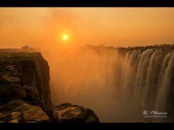 Cataratas Victoria. Zimbabwe.: Botswana, Zimbabwe, Cataratas Victoria