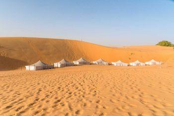 Jaimas en el desierto de Lompoul: Senegal