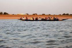 Vista durante nuestra navegación piragua: Senegal