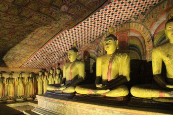 Templos de Dambulla: Sri lanka