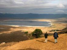 Llegada al mirador del Cráter del Nogorngoro. Tanzania.jpg: Tanzania, Zanzíbar