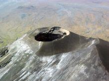Volcán ol doinyo lengai desde la avioneta, Tanzania: Tanzania
