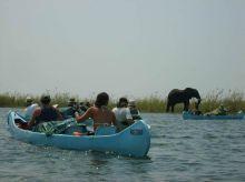En canoa por el río Zambeze: Zimbabwe, Zambia, Malawi