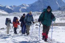 Camino del paso Larke: Nepal