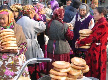 Nan, típico pan de Asia Central: Uzbekistán