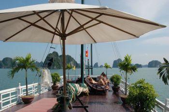 Barco Bahía Halong: Vietnam, Laos, Camboya