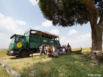 Nuestro camión. Diseñado especialmente para viaje de safaris.: Kenya, Tanzania