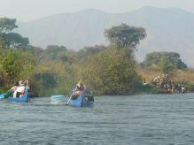 Río Zambeze, Zambia: Zambia, Zimbabwe