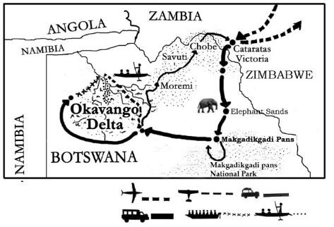 mapa de Río Perdido Clásico